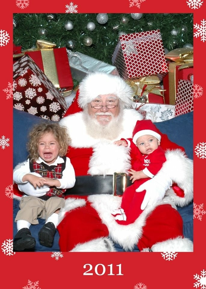kids hating santa