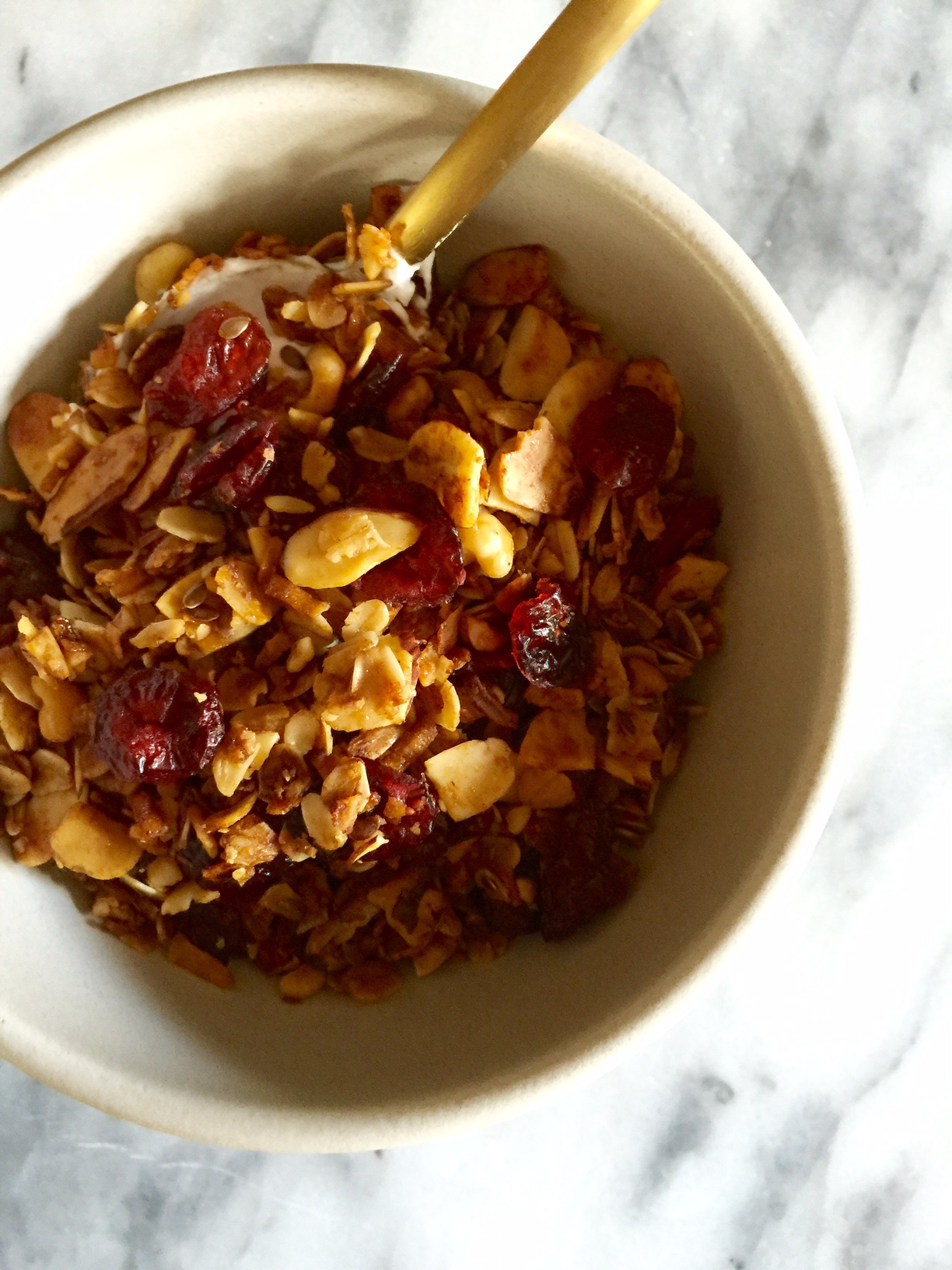 Homemade Sweet & Savory Granola
