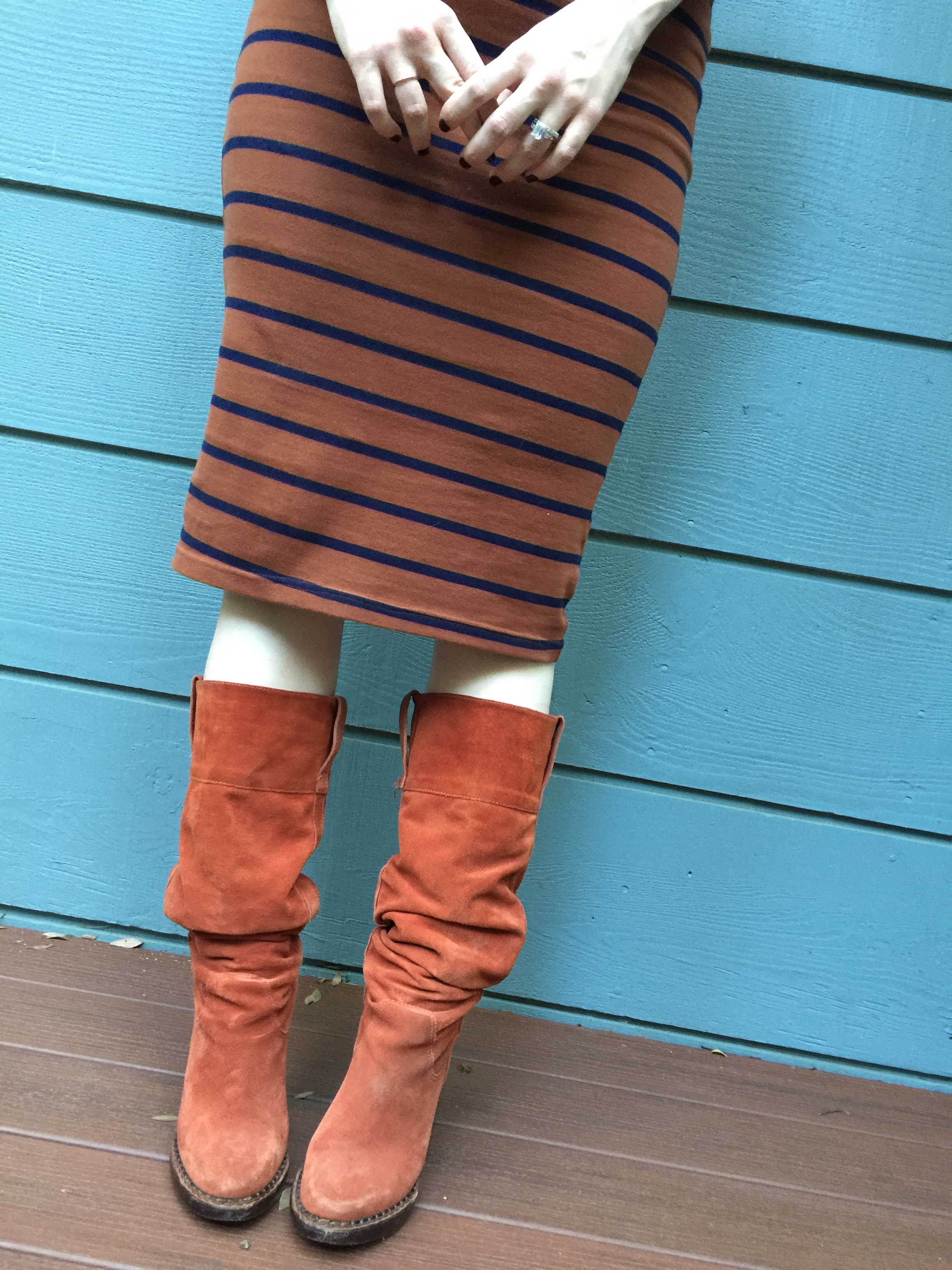 Stripey T-Shirt Dress