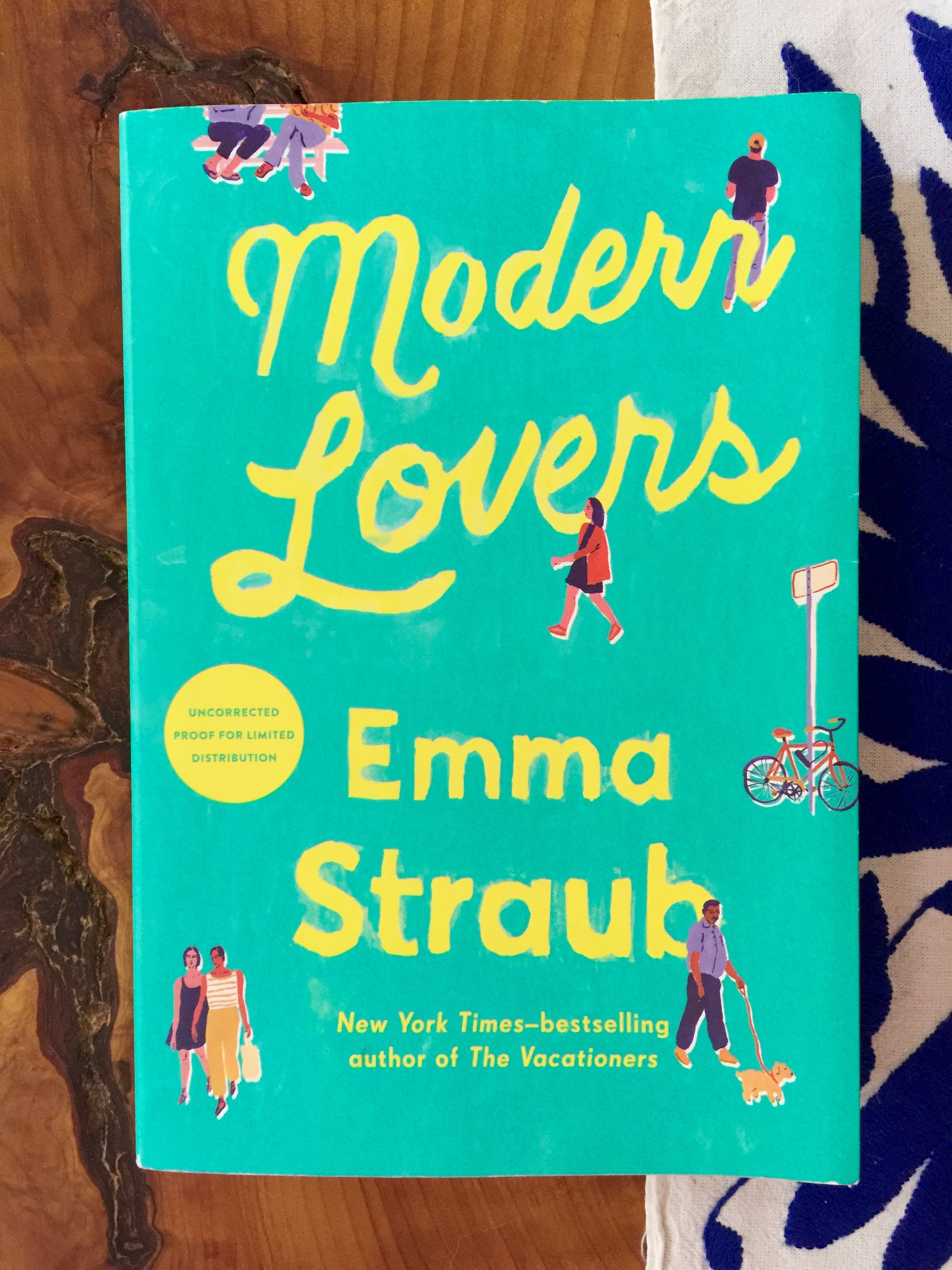 May Book Club MODERN LOVERS
