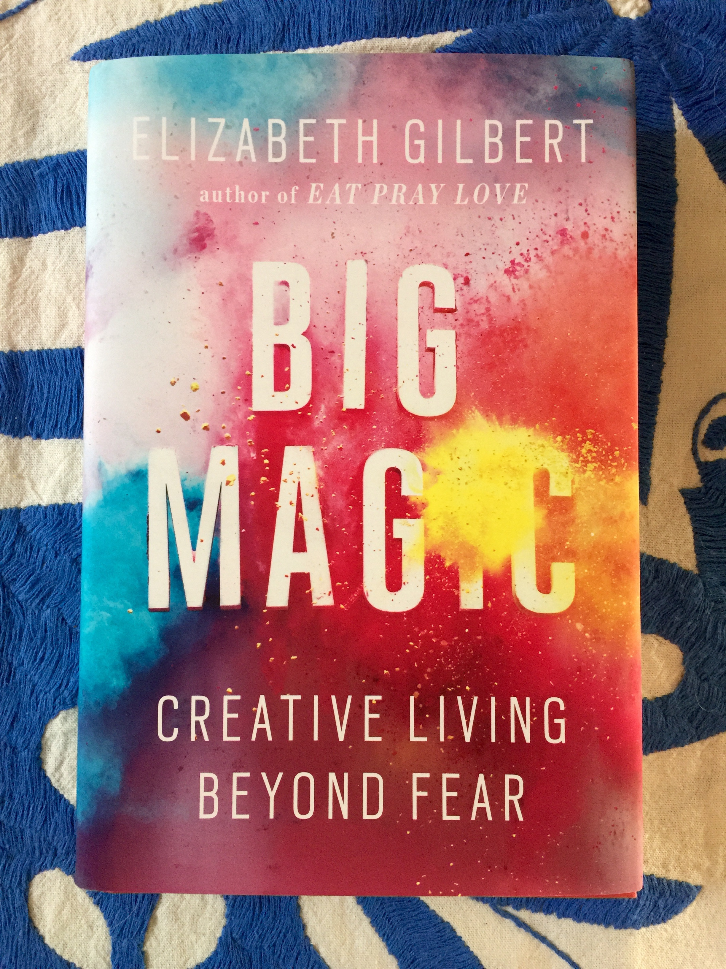 June Book Club: BIG MAGIC